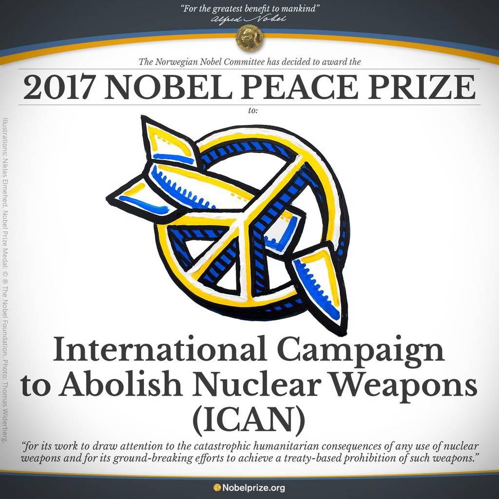 ΕΚΤΑΚΤΟ: Και το Νόμπελ Ειρήνης 2017 απονέμεται στη… (Vid)