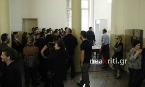 Ηράκλειο: «Φρούριο» τα δικαστήρια υπό το φόβο βεντέτας για το διπλό φονικό–Μπήκαν από άλλες πόρτες
