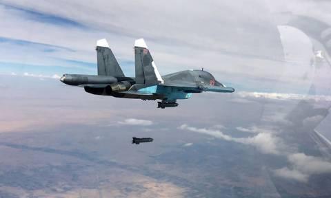 Ρωσικά μαχητικά κονιορτοποίησαν στρατηγείο του ISIS στη Συρία – Νεκροί τουλάχιστον 120 τζιχαντιστές