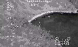 Συγκλονιστικό βίντεο: Το Πολεμικό Ναυτικό διασώζει δύο ψαράδες