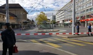 Συναγερμός στην Ελβετία: Εκκενώθηκε ο σιδηροδρομικός σταθμός της Λωζάνης (Pics)