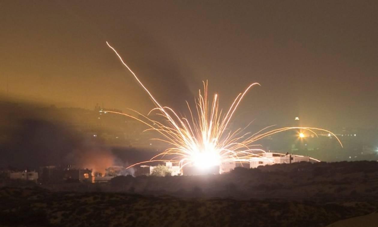 Ισραηλινό άρμα μάχης κατέστρεψε φυλάκιο της Χαμάς σε αντίποινα για την εκτόξευση ρουκέτας