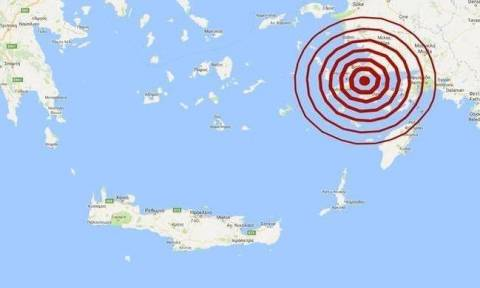 Σεισμός ΤΩΡΑ: Μεγαλύτερο το μέγεθος του σεισμού στην Κω (pics)
