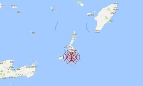 Σεισμός ΤΩΡΑ νότια της Καρπάθου (pics)
