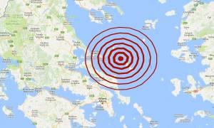 Σεισμός ΤΩΡΑ: Ισχυρός σεισμός κοντά στη Σκύρο - Αισθητός στην Αθήνα (pics)
