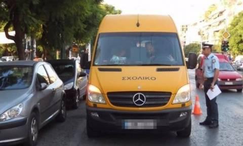 Μπαράζ παραβάσεων : «Οδηγοί αγώνων» πίσω από το τιμόνι των σχολικών λεωφορείων