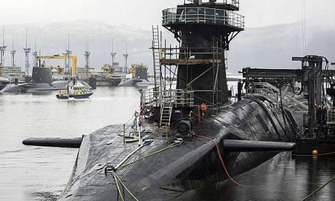 Ροζ σκάνδαλο σε υποβρύχιο του πολεμικού ναυτικού