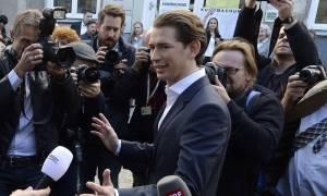 Αυστρία - Εκλογές: Ο Κουρτς δηλώνει έτοιμος να αναλάβει την καγκελαρία