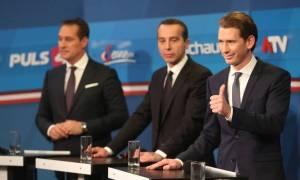 Αυστρία: Πρωτιά Κουρτς και «μάχη» Σοσιαλδημοκρατών - ακροδεξιών για τη δεύτερη θέση