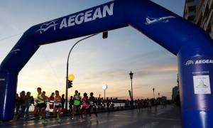 Η AEGEAN στήριξε τον 6ο Διεθνή Νυχτερινό Ημιμαραθώνιο Θεσσαλονίκης (pics)