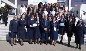 Εθελοντές του Ερυθρού Σταυρού τιμήθηκαν από το Φαρμακευτικό Σύλλογο Θεσσαλονίκης