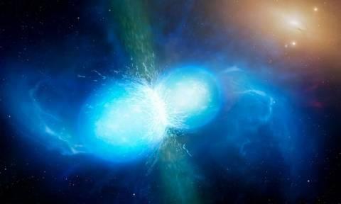 Ιστορική ανακάλυψη: Εντοπίστηκαν τα πρώτα βαρυτικά κύματα από συγχώνευση δύο άστρων νετρονίων!