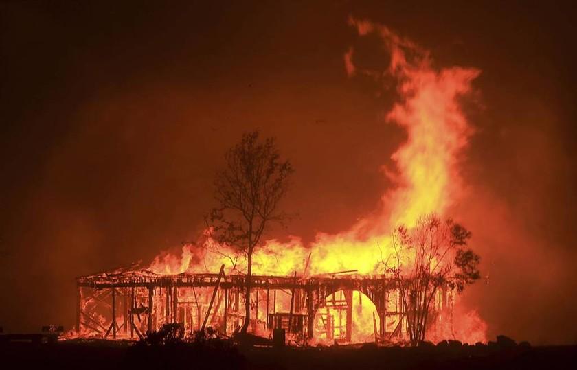 Σκληρή μάχη με τις φλόγες στην Καλιφόρνια - Στους 41 οι νεκροί από την «πύρινη κόλαση»