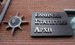 Ύφεση 0,2% το 2016 προβλέπει η ΕΛΣΤΑΤ
