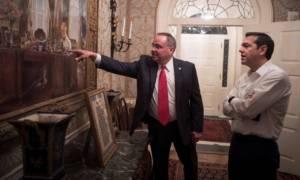 Δείτε πού μένει ο Τσίπρας στις ΗΠΑ - Ανέβασε φωτογραφίες από το «Blair House»