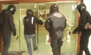 Εισβολή του Ρουβίκωνα στα γραφεία του ΚΕΑΟ στην Πειραιώς