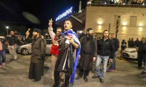 Θεσσαλονίκη: Νέα διαμαρτυρία κατά τη διάρκεια θεατρικής παράστασης «Η ώρα του Διαβόλου»