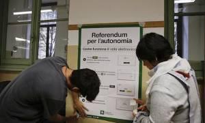 Μετά την Καταλονία και η Ιταλία σε ρυθμούς δημοψηφίσματος