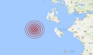Σεισμός δυτικά της Ζακύνθου (pics)