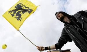 Το «σύνδρομο της Καταλονίας» φοβίζει το Βέλγιο: Στο «πόδι» οι Φλαμανδοί