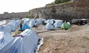 Χίος: «Λουκέτο» στον καταυλισμό προσφύγων της Σούδας
