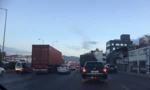 «Εφιάλτης» στην Εθνική Οδό Αθηνών - Λαμίας - Μποτιλιάρισμα άνω των 15 χλμ. (pics)