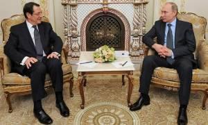 Анастасиадис пригласил Путина посетить Кипр