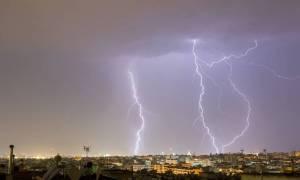Καιρός: Συγκλονιστικές εικόνες από το πέρασμα του «Δαίδαλου» στην Ελλάδα
