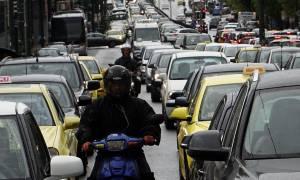 Απεργία Μετρό: Κυκλοφοριακό χάος στους δρόμους της Αθήνας