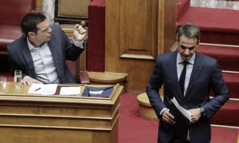 Ώρα του Πρωθυπουργού: «Μετωπική» Τσίπρα – Μητσοτάκη για ασφάλεια και εγκληματικότητα