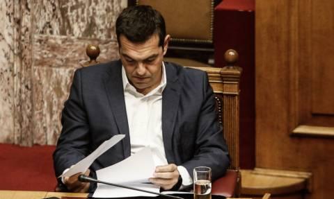 Αλέξης Τσίπρας στη Βουλή για F16: Δεν θα υπάρξουν αντισταθμιστικά!