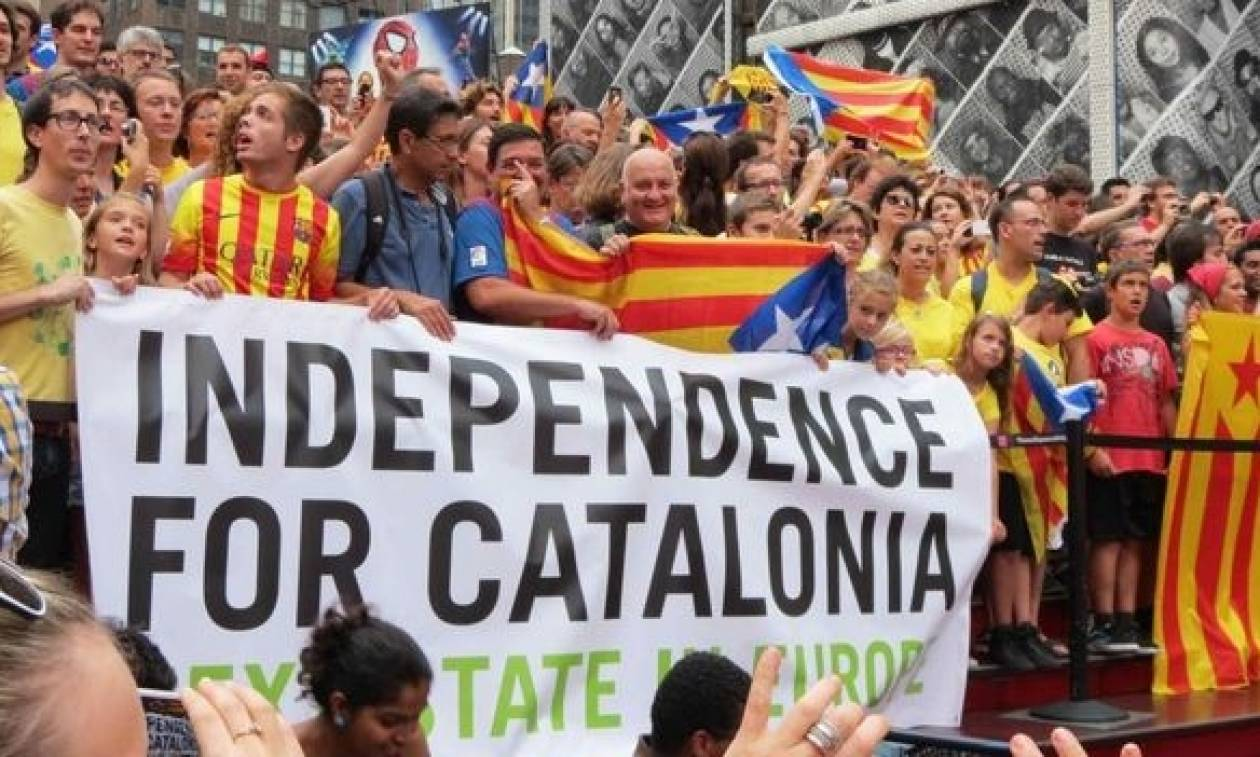 Καταλανικά κόμματα κατέθεσαν επίσημα στο Κοινοβούλιο πρόταση για ανεξαρτησία