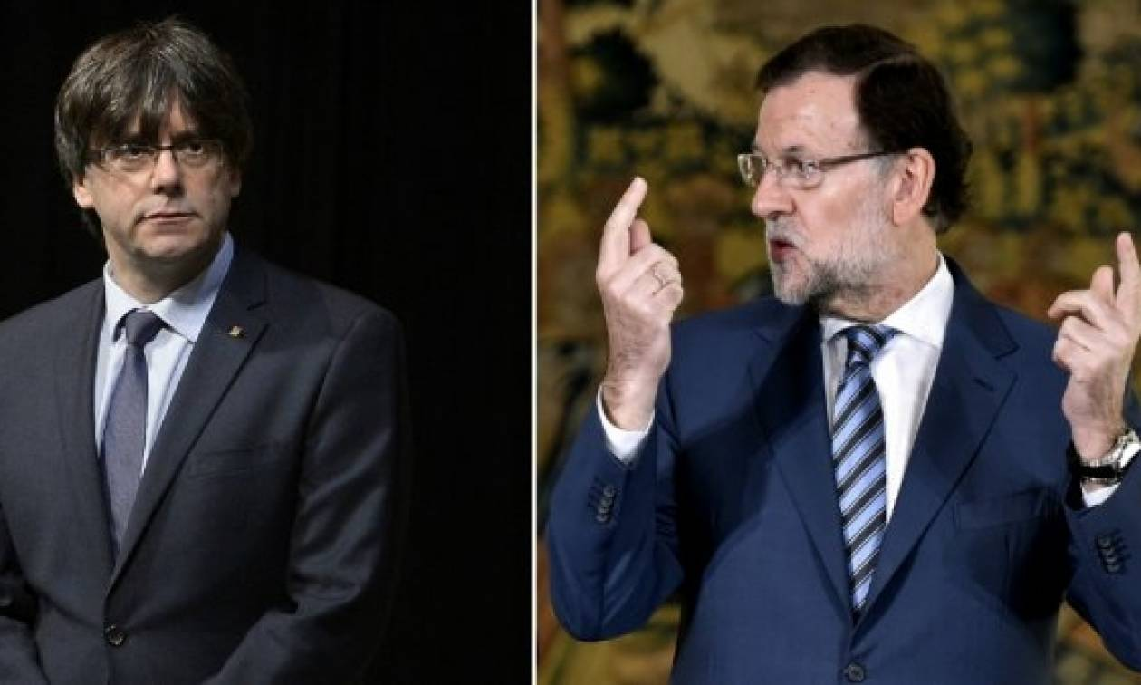 «Εμφύλιος» στην Ισπανία: Ο Ραχόι διέλυσε τη βουλή της Καταλονίας και προκήρυξε εκλογές