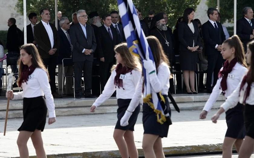 28η Οκτωβρίου 1940: Ολοκληρώθηκε η μαθητική παρέλαση στην Αθήνα (pics)
