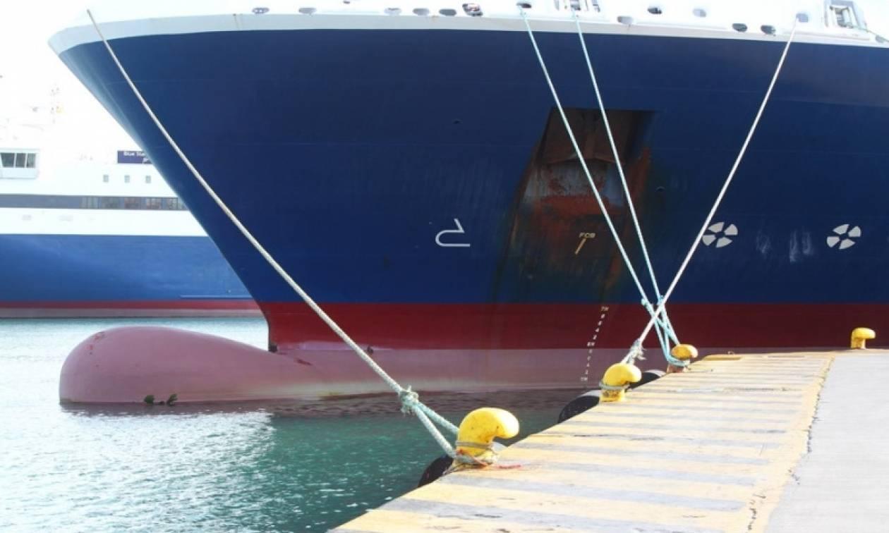 Δεμένα τα πλοία της γραμμής Ηγουμενίτσα - Κέρκυρα την Τρίτη και την Τετάρτη (31/10 και 1/11)