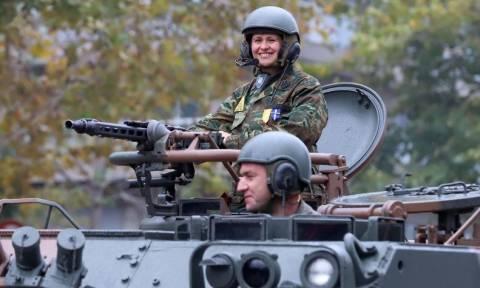 28η Οκτωβρίου - Θεσσαλονίκη: Οι γυναίκες που μαγνήτισαν τα βλέμματα στη στρατιωτική παρέλαση