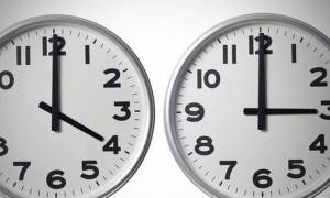 Αλλαγή ώρας 2017 - Προσοχή: Απόψε τα ρολόγια πάνε μία ώρα πίσω!