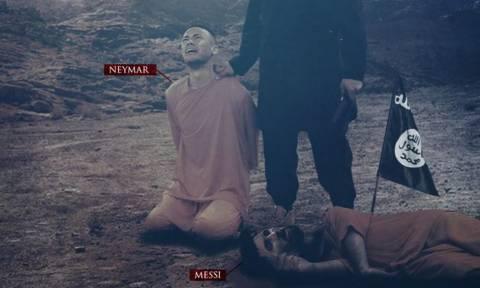 Σοκ! Ο ISIS απειλεί και Νεϊμάρ μετά τον… νεκρό Μέσι! (pic)