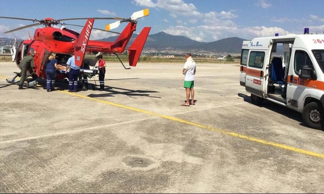 Αεροδιακομιδή 72χρονου από το Άγιο Όρος στο ΑΧΕΠΑ