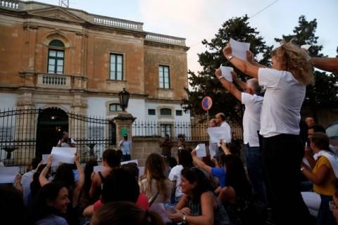 Μάλτα: Νέα διαδήλωση μετά τη δολοφονία της δημοσιογράφου Ντάφνι Καρουάνα Γκαλιζία