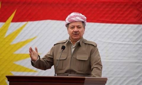 Μπαρζανί: Κανείς δεν στάθηκε στο πλευρό των Κούρδων