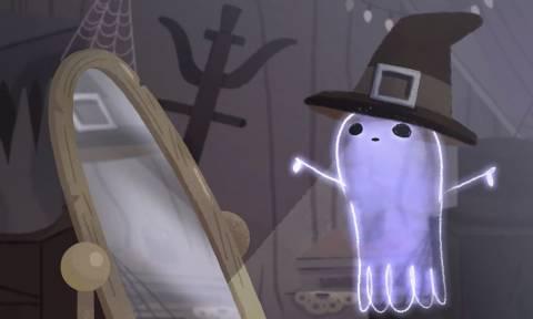 Halloween 2017: Αφιερωμένο στα φαντάσματα και τις μάγισσες το doodle της Google (vid)