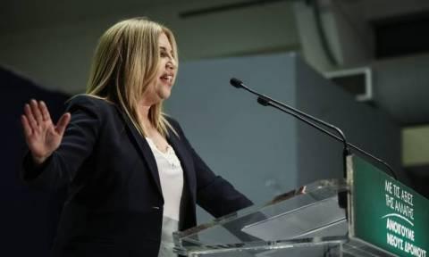 Εκλογές στην Κεντροαριστερά: «Περίπατο» της Φώφης Γεννηματά δείχνει δημοσκόπηση