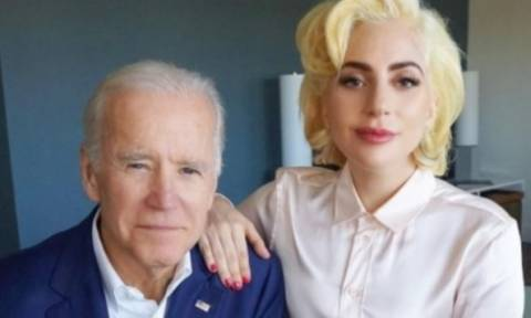 Lady Gaga-Τζο Μπάιντεν: «Να μη σηκώνουν χέρι οι άντρες στις γυναίκες»