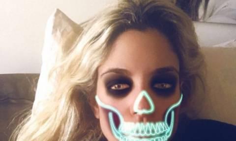 Η Δούκισσα Νομικού γιορτάζει το «Halloween» με το δικό της τρόπο
