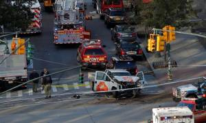 Οδηγός φορτηγού «θέρισε» ποδηλάτες και πεζούς στο Μανχάταν: Τουλάχιστον 8 νεκροί  (ΣΚΛΗΡΕΣ ΕΙΚΟΝΕΣ)