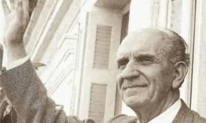 Σαν σήμερα το 1968 πέθανε ο «Γέρος της Δημοκρατίας», Γεώργιος Παπανδρέου (pics+vid)