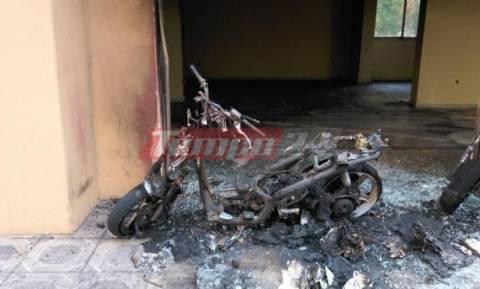 Πάτρα: Κάηκαν πέντε οχήματα τα ξημερώματα – Φόβοι για επιστροφή του εμπρηστή
