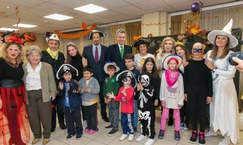Halloween πάρτι-έκπληξη για τα παιδιά στον Ξενώνα της «ΕΛΠΙΔΑΣ»