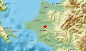Ισχυρός σεισμός στην Αμαλιάδα - Αισθητός και στην Πάτρα